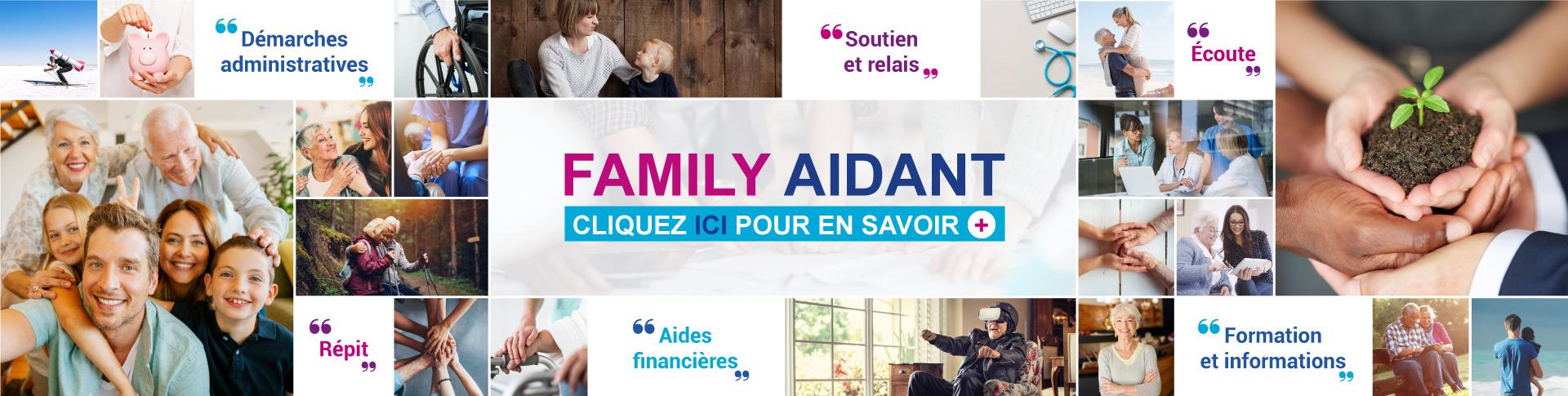 Family Aidant est le service d'aide aux aidants